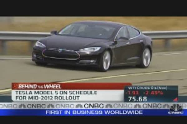 Tesla's Big Bet on Electric Cars