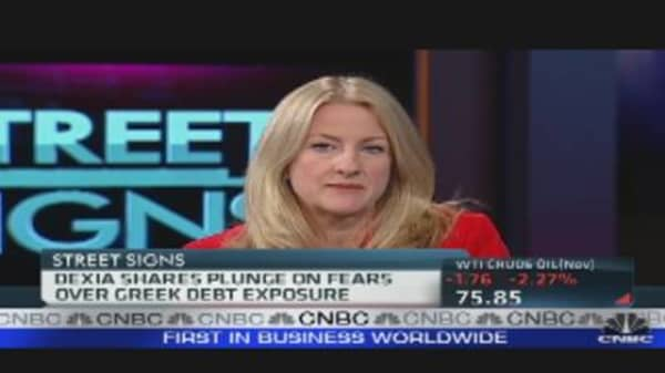 Dexia Plunges on Greek Exposure Fears