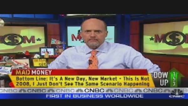 Mad Money Markets:  It's Not a 2008 Recession!