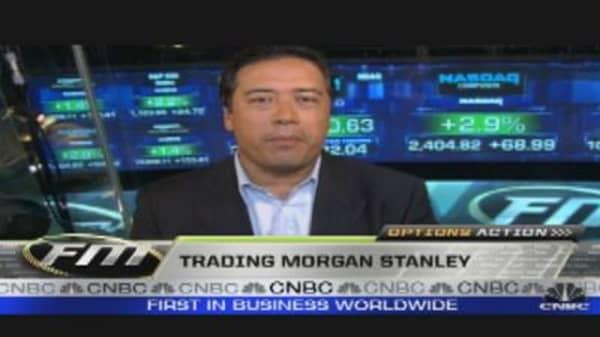 Options Action: Morgan Stanley