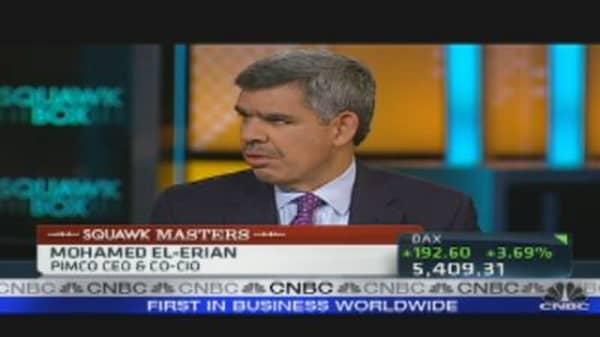 El-Erian Between Very Concerned & Scared