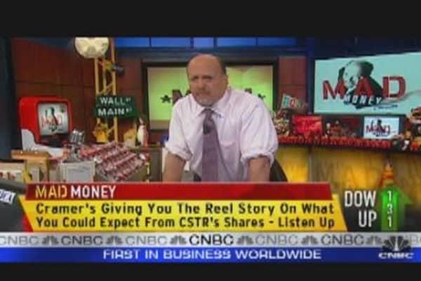 Cramer: Embrace the Volatility!