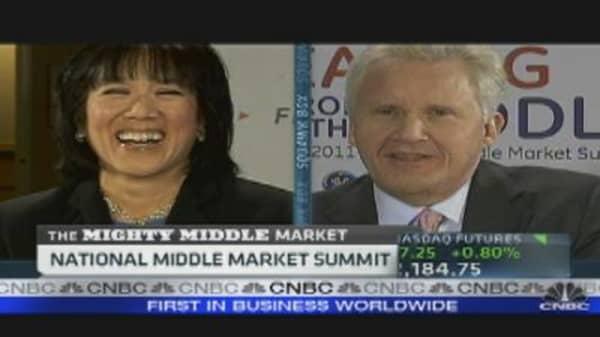 Jeff Immelt on Exports, Steve Jobs