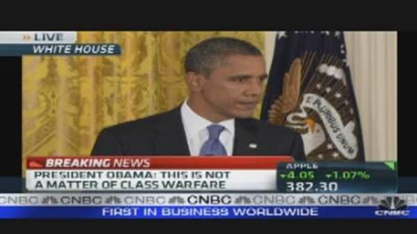 President Obama on Jobs Act