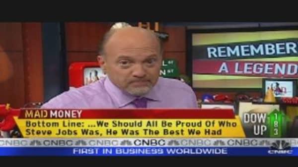 Cramer: Steve Jobs, the Best We Had