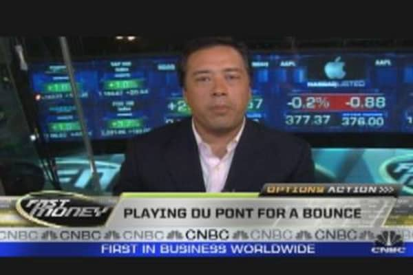 Options Action Play on Du Pont