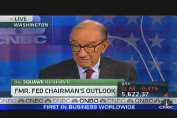 Greenspan on Europe's Debt Problems
