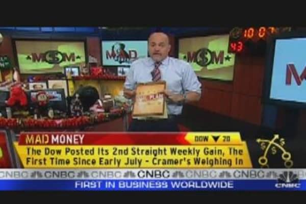 Cramer's Stock Market Game Plan