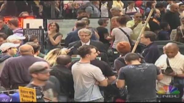 Occupy Wall Street Speaker's Corner, Pt. 2