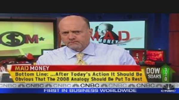 Cramer: Time to Love Stocks Again?