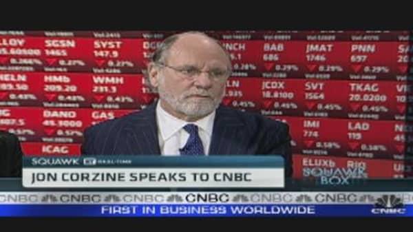 Occupy Wall St Like Tea Party: Jon Corzine