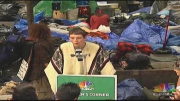 OWS Speaker's Corner, 10/11/2011, Pt. 3