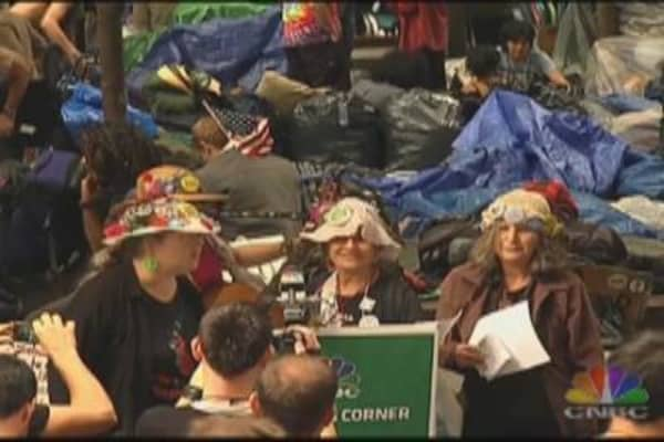 Raging Grannies Occupy Wall Street