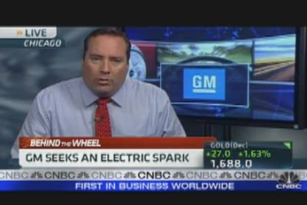 GM to Build Electric Chevy Spark