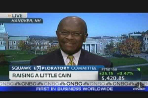 Cain's Plan to Reform the Tax Code
