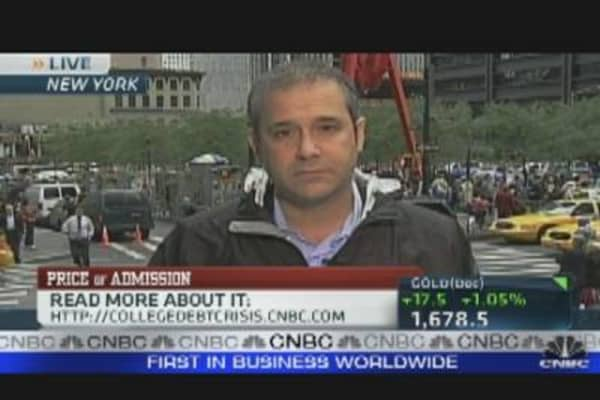 Occupy Wall Street Protests Student Loans