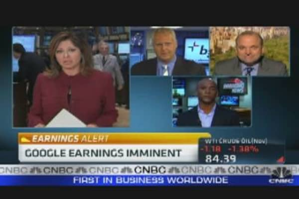 Google Reports Earnings