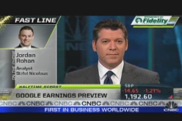 Trading Google Ahead of Earnings