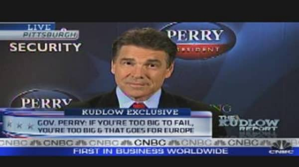 Gov. Rick Perry One-on-One