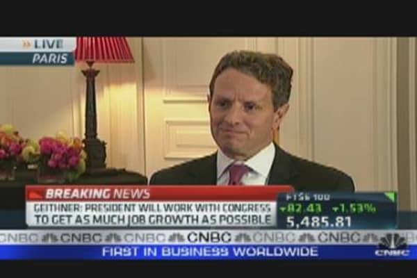 Treasury Secretary Geithner