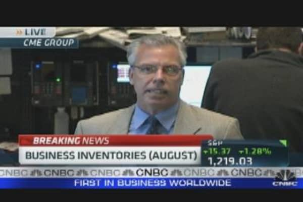 Aug. Business Inventories Up 0.5%