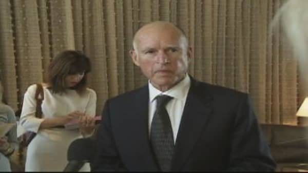 Jerry Brown on Dream Act