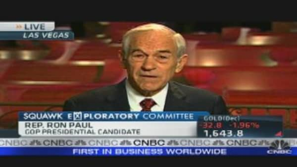Ron Paul: Fixing America's Debt Crisis