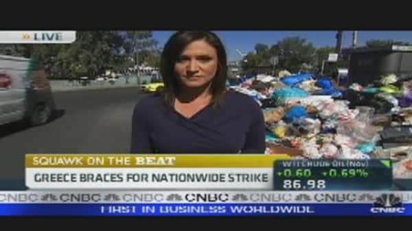 Bracing For a Mass Strike in Greece