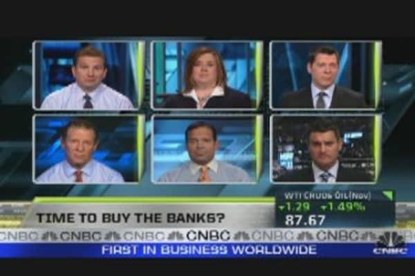 Goldman, Financials & Midday Pops