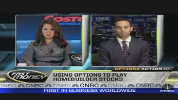 Options Action:  Home Builders