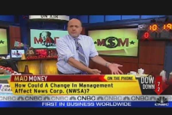 Cramer Tosses the Red Flag on Markets