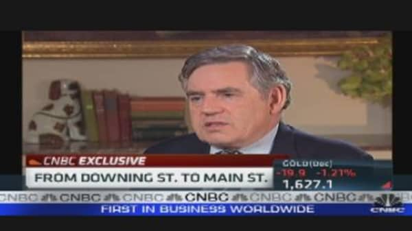 Gordon Brown: Banks Are the Problem