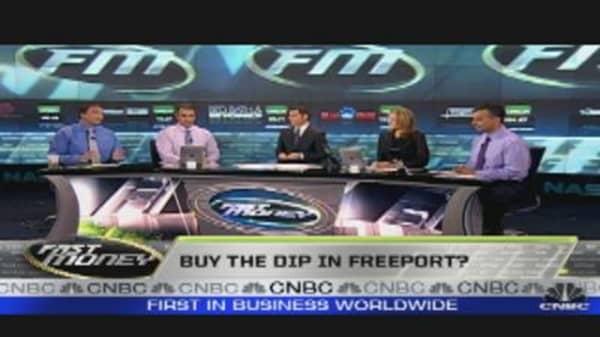 Buy the Dip in Freeport?