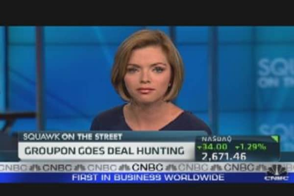Groupon Goes Deal Hunting