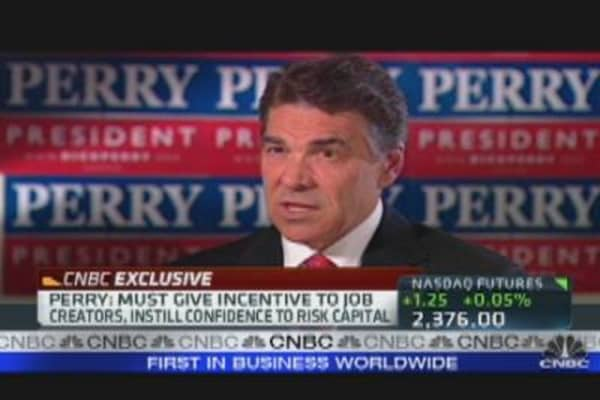 Rick Perry's Economic Plan