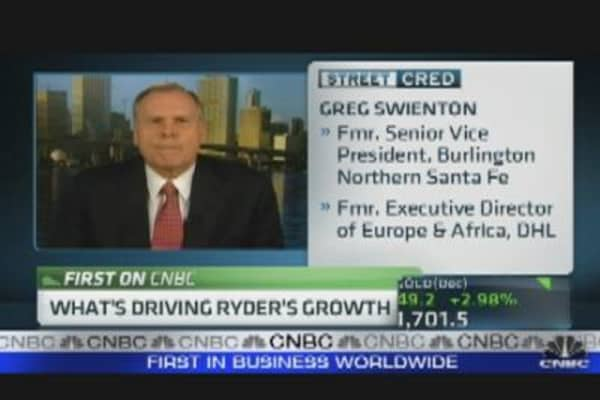 Ryder CEO on Company's Growth