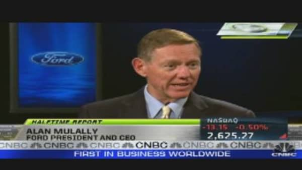 Ford CEO Mulally's Earnings Breakdown