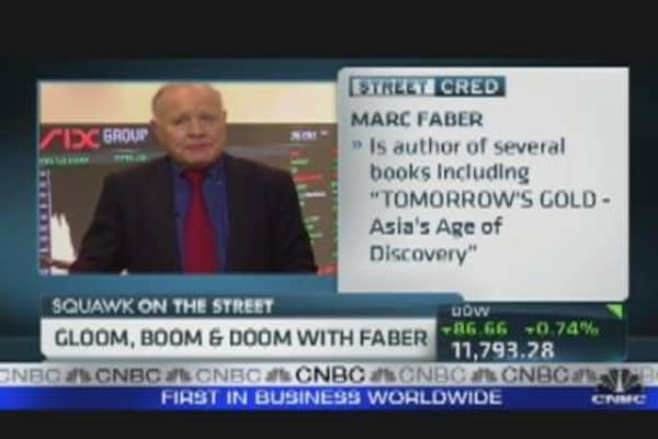 Gloom, Boom & Doom with Marc Faber