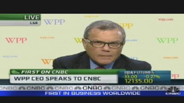 2013 Year to Worry About: Sir Martin Sorrell
