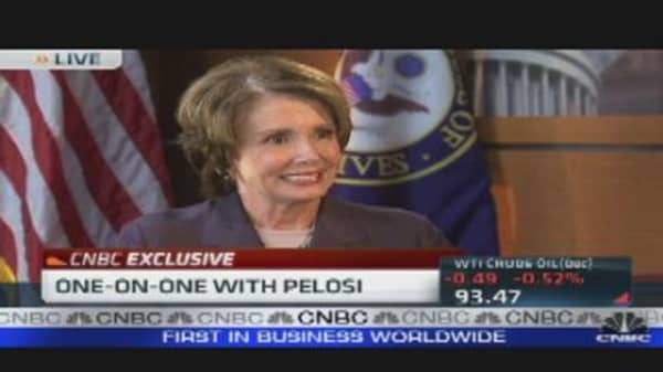 One-on-One With Nancy Pelosi