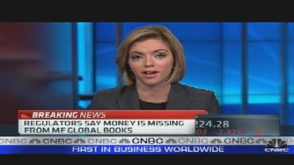 MF Global: Millions of Dollars Missing