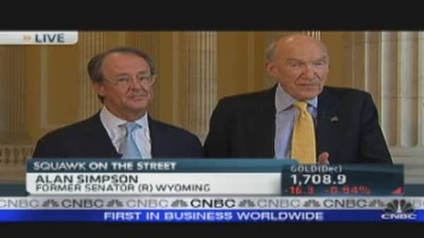 Bowles & Simpson on Supercommittee DeadlineNearing