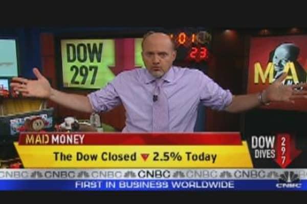 Markets:  No Real Dip, Says Cramer
