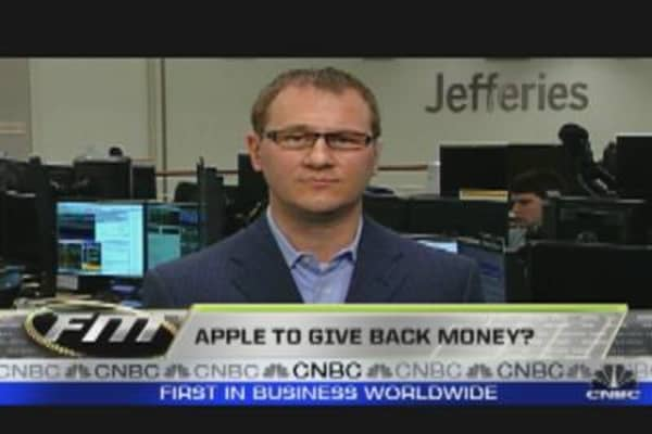 Apple to Give Back Money?