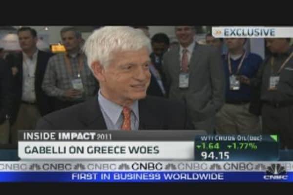 Mario Gabelli on Greece Woes