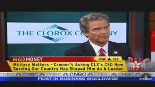 Clorox: Investors Cleanup with Yield