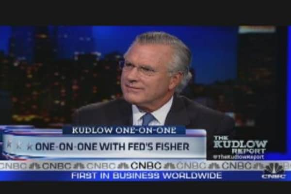 One-on-One with Fed's Fisher