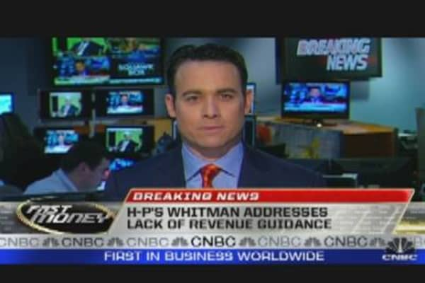 HP Whitman's on Earnings