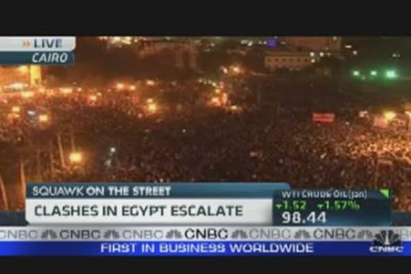 Clashes in Egypt Escalate