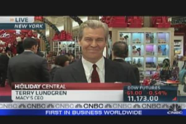 Macys CEO on Holiday Retail